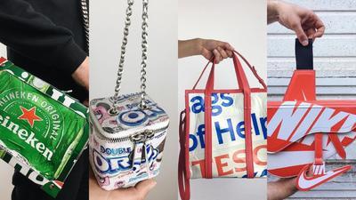 Pero hablando de bolsos, existe una cuenta que recopila los diseños más cotizados del momento, y no se trata de alguna influencer que muestra su clóset repleto de bolsos costosos, si no de una peculiar manera de reinterpretar los increíbles diseños.