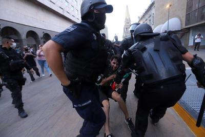 Protestan por homicidio de Giovanni López en Jalisco