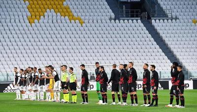 El Calcio regresó sin goles, pero con un partido intenso, en el que el portugués Cristiano Ronaldo falló un penalti en la primera mitad y en el que el Milan aguantó con coraje hasta el final pese a quedarse con diez hombres tras apenas quince minutos, sin poder evitar que la Juve se clasificara para la final del próximo 17 de junio en el Olímpico de Roma.