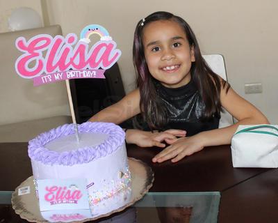 Elisa Mendívil festejó su cumpleaños.