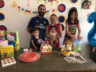 Cumpleaños en casa