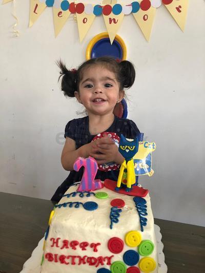 La pequeña Leonor Valenzuela Ortega, festejó su cumpleaños número dos.