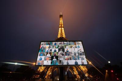 Solamente un número limitado de personas podrán ingresar cuando la Torre Eiffel abra de nuevo el 25 de junio. Los elevadores no estarán en servicio y solamente los dos primeros pisos estarán accesibles para el público.