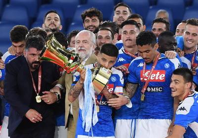 Napoli vuelve a ganar la Copa Italia después de 6 años