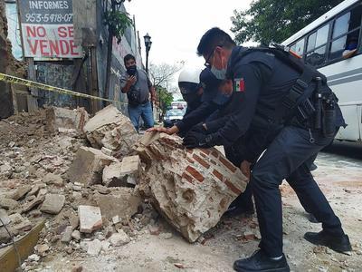 Sismo de magnitud 7.5 sacude el sur y centro de México
