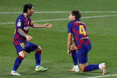 Para Messi fue el segundo cotejo en fila que se va en blanco. Deberá esperar a una nueva oportunidad para conquistar su diana número 700 como profesional con el Barcelona y la selección argentina.
