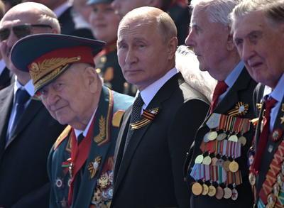 El presidente Vladimir Putin encabezó el acto.