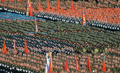 Se realizó el tradicional desfile.
