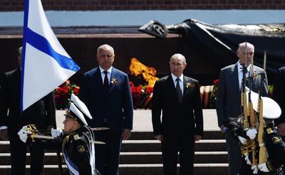 Putin no mencionó a la pandemia en su discurso.