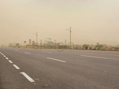 Imagen tomada de la supercarretera Durango-Mazatlán.