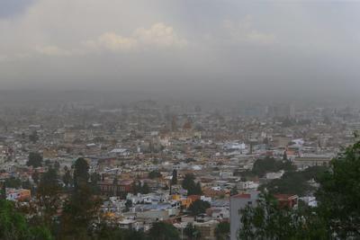 Imágenes tomadas desde el cerro de Los Remedios.
