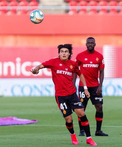 Romero ingresó a los 83 minutos del partido que el Mallorca perdió 2-0 de visita al Real Madrid la noche del miércoles.