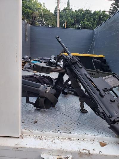 Esta mañana fuimos cobardemente atacados por el CJNG (Cártel Jalisco Nueva Generación), dos compañeros y amigos míos perdieron la vida, afirmó el secretario de Seguridad Ciudadana de la Ciudad de México, Omar García Harfuch.