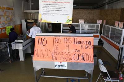 Notifican a mercado de Abastos de Torreón sobre medidas sanitarias obligatorias