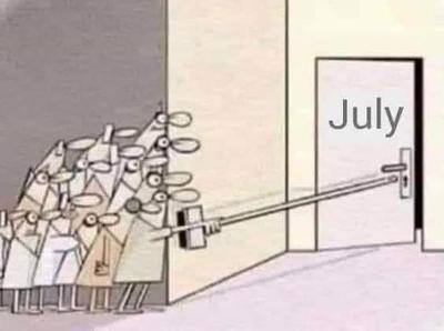 'Julio sorpréndeme'; con memes internautas reciben al nuevo mes