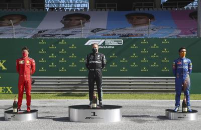 Se corrió el Gran Premio de Austria.