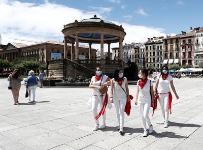 Pamplona se quedó sin festejo este año.