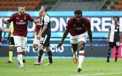 Un penalti otorgado por el VAR por un toque con una mano de Leonado Bonucci fue transformado en el 62 por el sueco Zlatan Ibrahimovic. En los cuatro minutos siguientes, el marfileño Franck Kessié anotó el 2-2 y, nada más poner el Juventus el balón en juego, el portugués Rafael Leao firmó el 3-2.