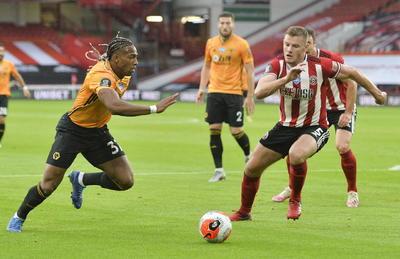 Wolves deja ir puntos ante el Sheffueld United