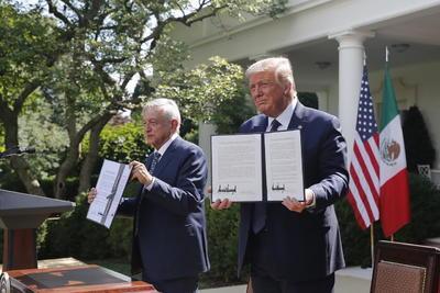 AMLO y Donald Trump destacan entrada en vigor del T-MEC