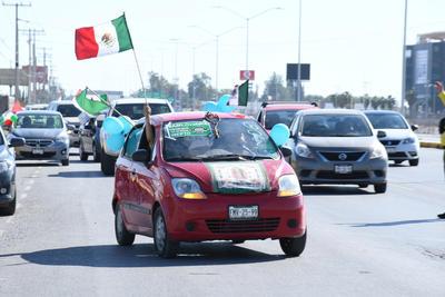 Siguen las protestas contra López Obrador.