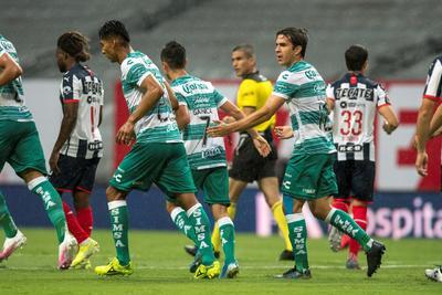 Santos Laguna es derrotado por Rayados en partido amistoso