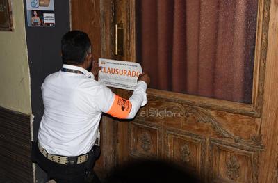 Clausuras. Personal del Municipio y del Estado realizaron operativos para verificar que se cumplieran los protocolos y hubo algunas clausuras.