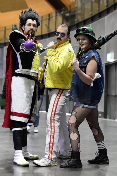 El centro de San Diego será mucho menos colorido esta semana, cuando está prevista la 51ra Comic-Con. Pero eso no quiere decir que las mallas, maquillajes de zombi, máscaras y capas pasaron al olvido.