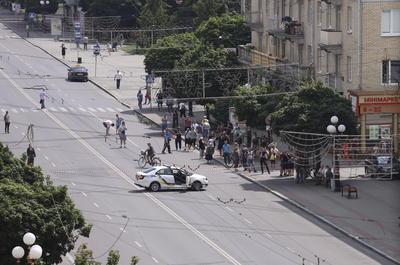 """La Policía ha pedido a los ciudadanos que """"no se acerquen a la zona"""" y se queden """"en casa o en sus lugares de trabajo""""."""