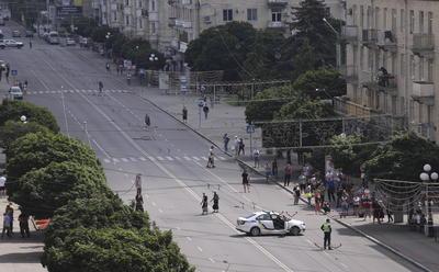 Un hombre armado ha tomado rehenes y un conductor de un autobús de cercanías en Lutsk.