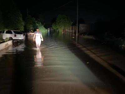 Dentro de la evaluación preliminar, hay 300 casas afectadas, de las que 150 presentan inundación.