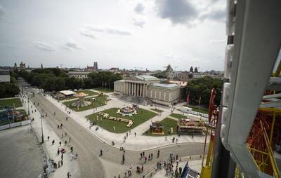 Festival de verano en Munich, con nueva normalidad ante la pandemia