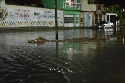 Lluvia y granizo causan estragos en La Laguna
