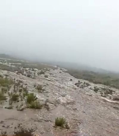 Paso de 'Hanna' en Coahuila