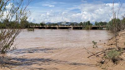 Agua del río Aguanaval arriba a Matamoros y Viesca