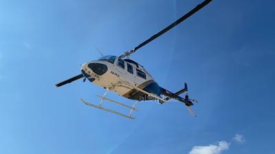 Un helicóptero de la Secretaría de Seguridad Pública del Estado realizó recorridos de reconocimiento por lo largo y ancho del paso del caudal, donde observaron los puntos donde se requería apoyo.
