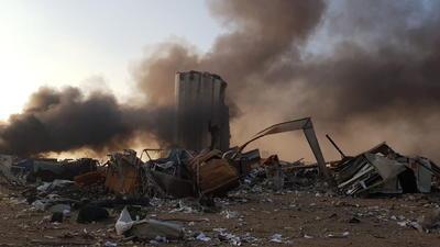 Se registra enorme explosión en la zona costera de Beirut