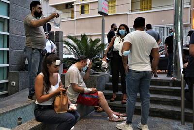 Líbano recibe ayuda internacional tras explosión en Beirut
