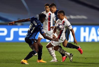 PSG derrota al Atalanta para instalarse en las semifinales de la Champions