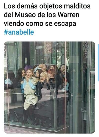 Annabelle 'desaparece' del museo Warren y los memes no se hacen esperar