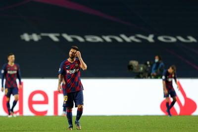 Bayern Múnich golea al Barcelona en los 'cuartos' de la Champions League