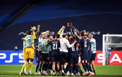 PSG avanza a su primera final en la Champions League