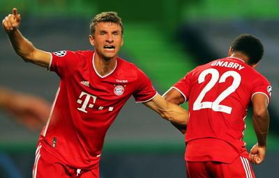 Bayern Múnich golea al Lyon y avanza a la final de la Champions League