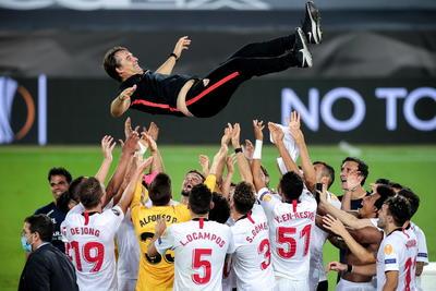 Sevilla gana su sexta copa de la Europa League