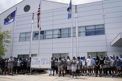 Detroit Lions dejan entrenamiento como protesta ante caso Blake
