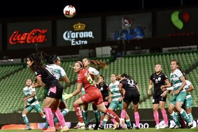 Caen Guerreras del Santos Laguna 1-3 frente a Monterrey