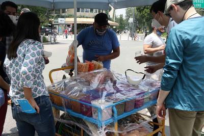 Comerciantes en triciclos se manifiestan en las calles de CDMX