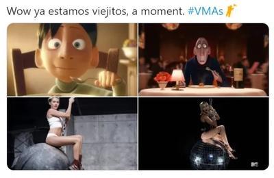 'La noche de los cubrebocas'; llegan los memes de los VMAs 2020