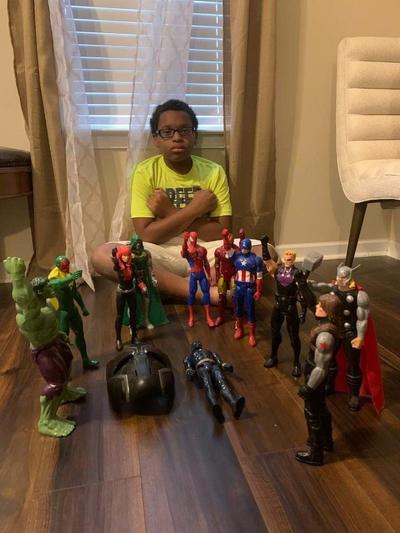Niños del mundo le rinden homenaje a 'Black Panther'