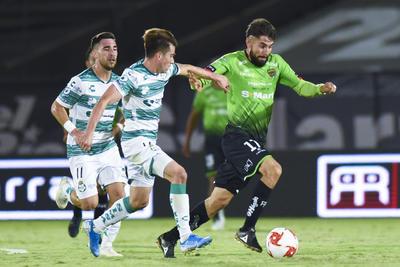 Empatan Santos Laguna 1-1 frente a Bravos de Juárez